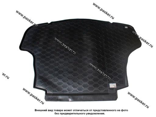Коврик в багажник Toyota Camry 8 XV70 17- седан пластик Comfort