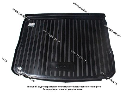 Коврик в багажник Volkswagen Tiguan 5N1 5N2 07-17 пластик Comfort