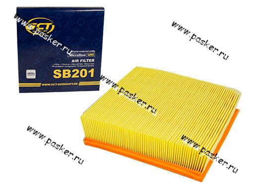 Фильтр воздушный 2108-10 11-15 21214 2123 инжектор SCT SB201