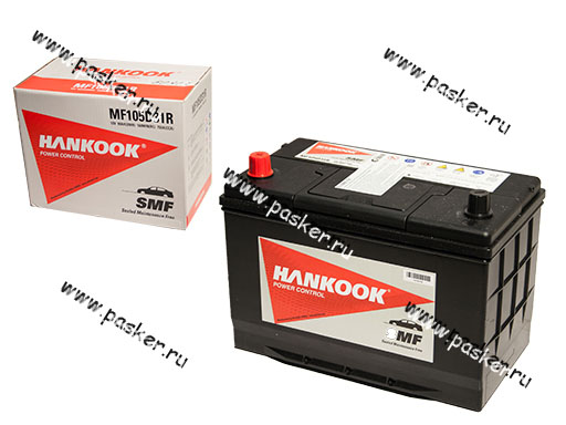 Аккумулятор HANKOOK 90Ач EN750 ASIA 305x172x225 105D31R