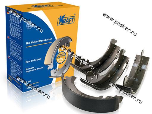 Колодки тормозные 2101-07 2121-213 2123 Chevrolet Niva задние KRAFT 091356