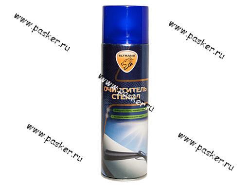 Очиститель стекол ЭЛТРАНС 650мл Мультивид аэрозоль