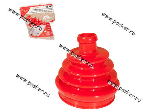 Пыльник ШРУСа 2121-2123 внутренний БРПласт полиуретан red