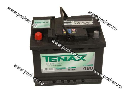 Аккумулятор TENAX 56Ач EN480 242х175х190 TE-H5R-2