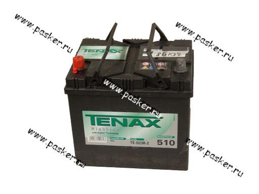 Аккумулятор TENAX 60Ач EN510 ASIA 232х173х225 высокий TE-D23R-2