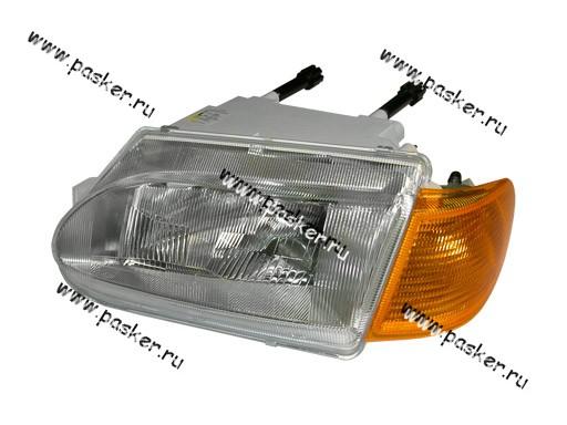 Блок фара 2115 14 Automotive Lighting левая желтый указатель 053-01
