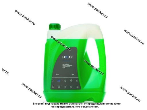 Антифриз LECAR G11 5 кг зеленый