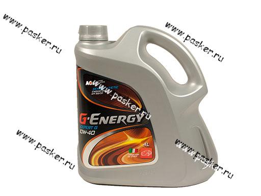 Масло G-Energy 10W-40 Expert G API SG/CD 4л п/с