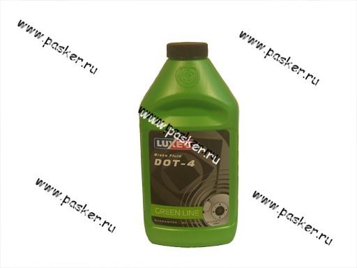 Жидкость Тормозная LUX-OIL 455мл DOT4