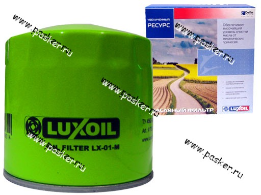 Фильтр масляный 2101-07 LUX-OIL LX01M