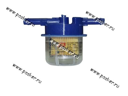 Фильтр топливный 2101-099 Волга LUX-OIL LX03T с отстойником