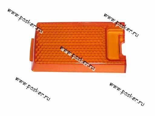 Рассеиватель заднего фонаря 21011 оранжевый