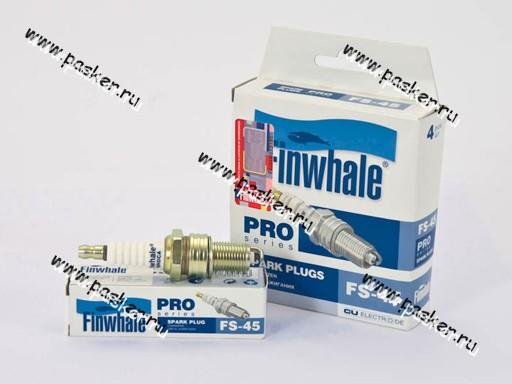 Свеча Finwhale Daewoo Nexia дв 1.5-1.6 8V Lanos дв 1.4-1.5 8V FS45