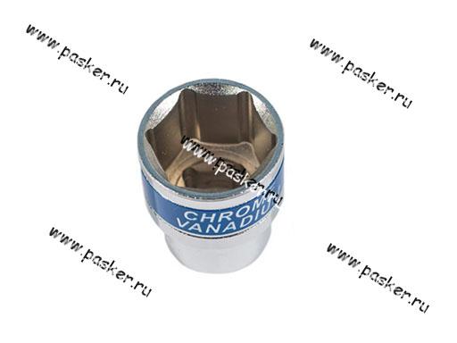 Головка торцевая 24 1/2 короткая 6-гранная Autoluxe