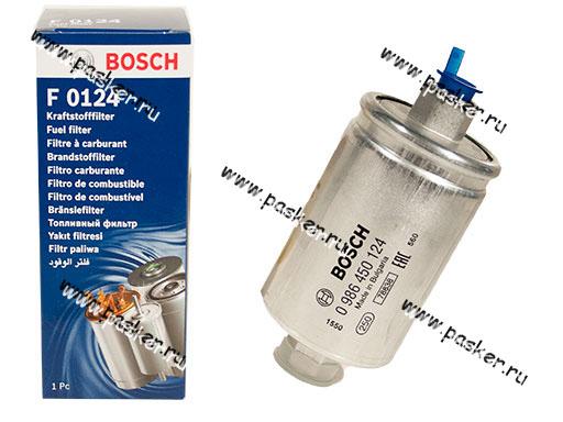 Фильтр топливный 2108-10 инжектор BOSCH 124