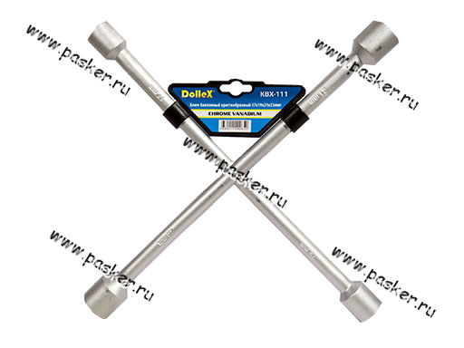 Ключ баллонный крестовой 17х19х21х23 Dollex