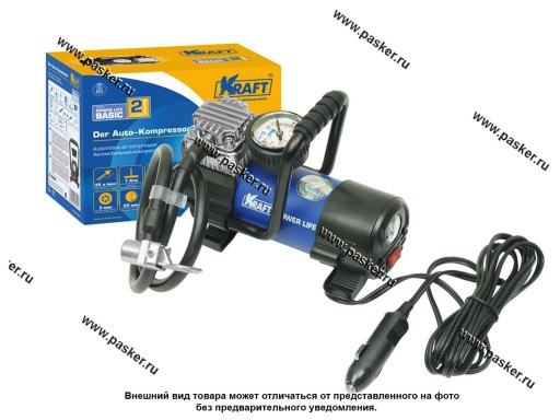 Компрессор KRAFT Power Life BASIC 35 л/мин  7 АТМ 800027