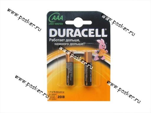 Батарейка DURACELL LR03 ААА BL-2