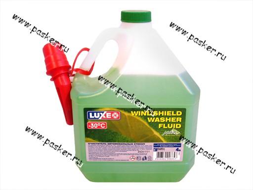 Жидкость незамерзающая LUXE 4л до -30 Лайм