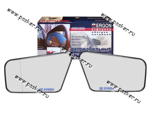 Зеркальный эл-т 2108-099 ERGON левый/правый с рамкой антиблик нейтральный обогрев асферика