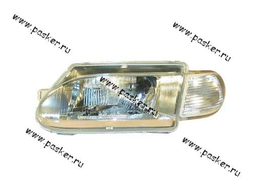 Блок фара 2115 14 Automotive Lighting левая белый указатель 053-02