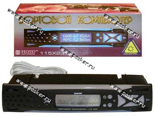 Компьютер маршрутный 21083-099/2115 ШТАТ-115 Х23/X24М/Х42Л синий индикатор