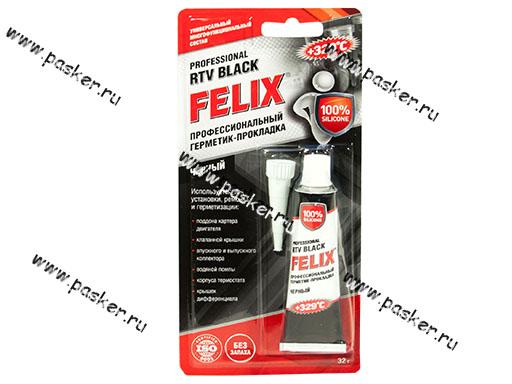 Герметик FELIX 32гр высокотемпературный черный