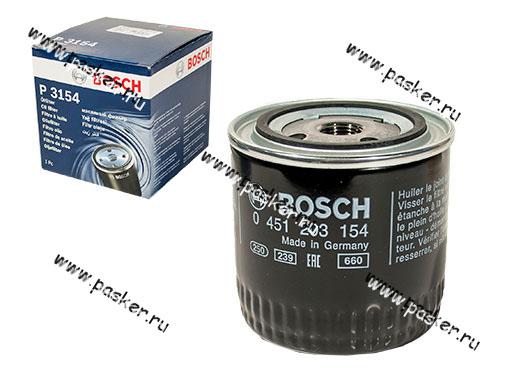 Фильтр масляный 2101-07 ГАЗ дв 406 УАЗ BOSCH 154
