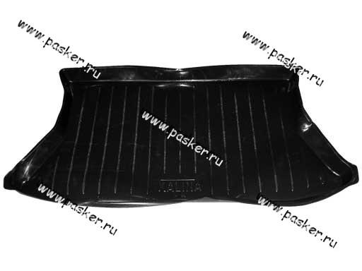 Коврик в багажник 1119 Калина пластик Comfort
