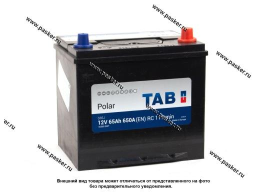 Аккумулятор TAB Polar 65.0 Ач EN650 ASIA 230х170х220 обр/п 56568