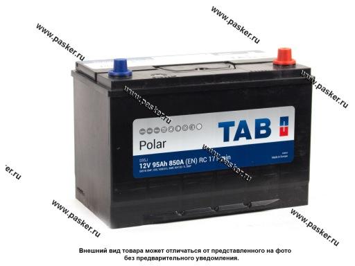 Аккумулятор TAB Polar 95.0 Ач EN850 ASIA 303х175х227 обр/п 59518