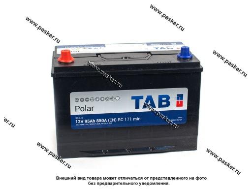 Аккумулятор TAB Polar 95.1 Ач EN850 ASIA 303х175х227 обр/п 59519