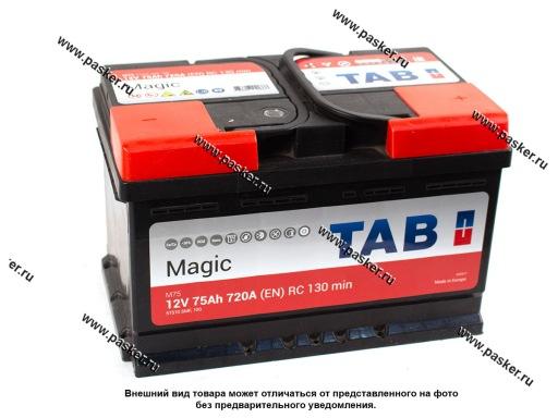 Аккумулятор TAB Magic 75.0 Ач EN700 278х175х175 обр/п низкий