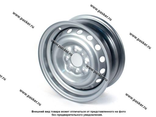 Диск колесный 2103,06 АвтоВАЗ 13/5J/4*98/ЕТ29/d60.1 черный грунт+серебристое покрытие