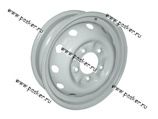 Диск колесный 2121,213,214 АвтоВАЗ 16/5J/5*139.7/ЕТ58/d98.5 черный грунт+серебристое покрытие