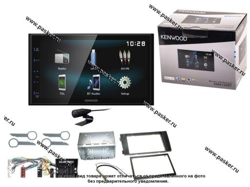 Автомагнитола 2DIN KENWOOD USB/Bluetooth 4х50Вт DMX120BT