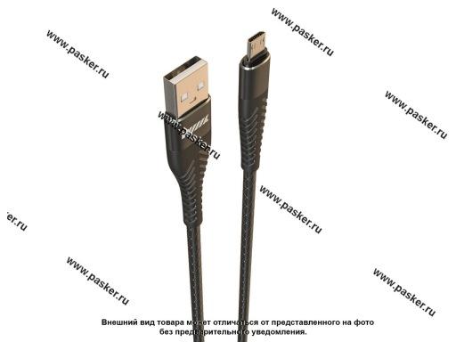 Кабель универсальный Micro-USB 1м WIIIX CB720-UMU-2A-10B чёрный