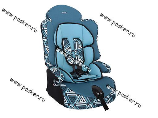 Кресло детское SIGER Прайм ISOFIX группа 1,2,3 от 9-36кг геометрия
