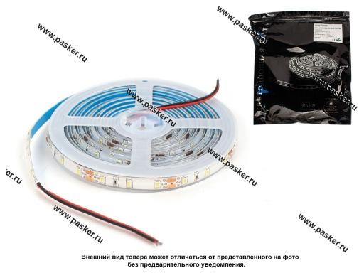 Лента светодиодная 12В 3528 300SMD IP65/67/LS604 герметичная холодн белый 4,8Вт/м 1метр