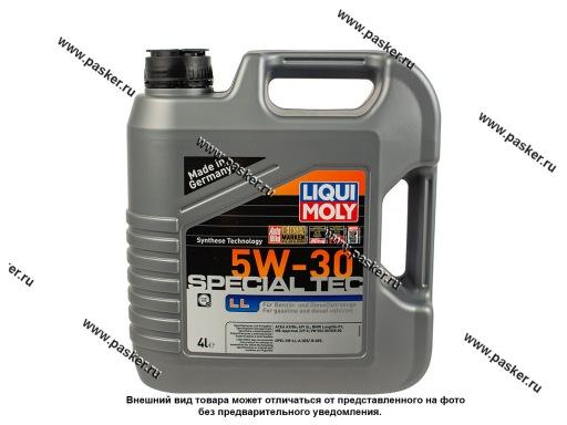 Масло LIQUI MOLY  5W30 Leichtlauf Special LL API SL/CF A3-04/B4-04 4л син 7654