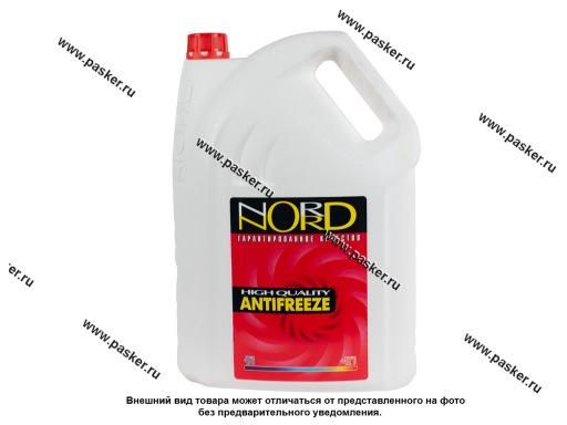 Антифриз NORD-40 10л красный