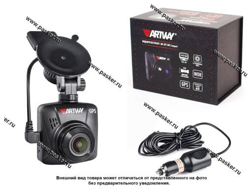 Видеорегистратор Artway AV-397 GPS Compact