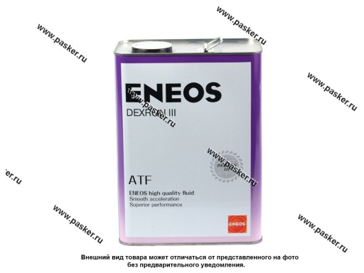Масло ENEOS ATF DEXRON-III 4л син
