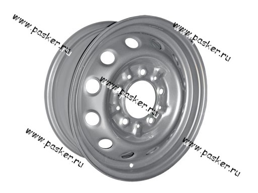 Диск колесный 2123 Chevrolet Niva АвтоВАЗ 15/6J/5*139.7/ЕТ40/d98.5 черный грунт+серебристое покрытие