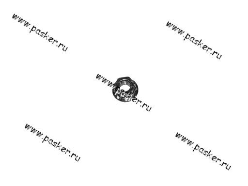 0038322-019 | 00001-0038322-019 Гайка М8 с зубчатым буртиком