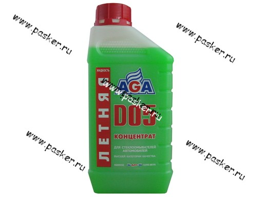 Жидкость стеклоомывающая AGA 055C 946мл концентрат на 4-6 литров