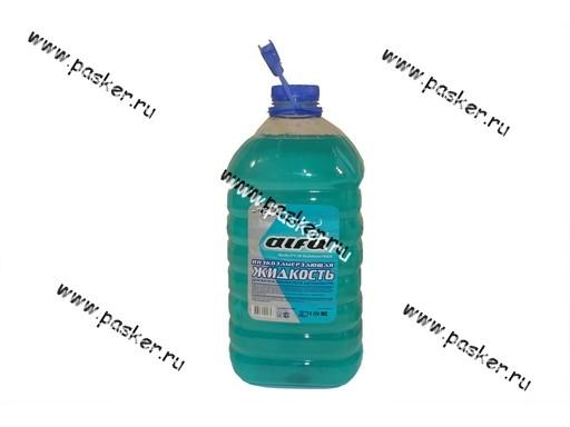 Жидкость незамерзающая ALFA 4л до -15 упаковка ПЭТ