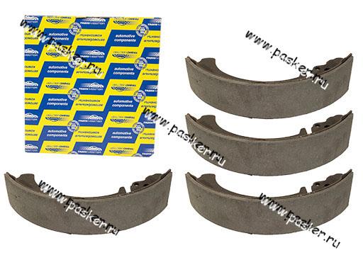 Колодки тормозные 2101-07 2121-213 2123 Chevrolet Niva задние Transmaster