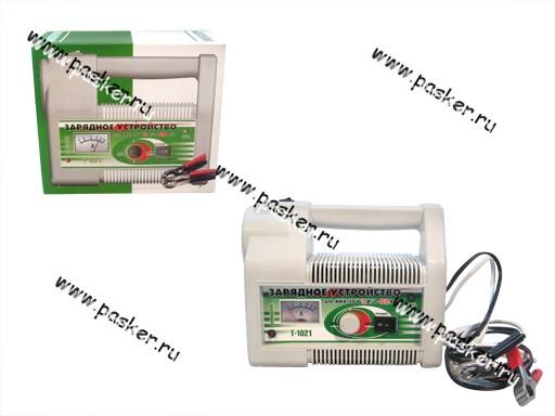 Зарядное устройство АВТОЭЛЕКТРИКА T-1021 с фонарем