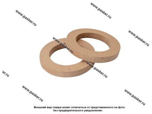Кольца проставочные 10 см D=97/148 мм МДФ 16мм AURA